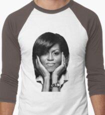 Michelle Obama Baseball ¾ Sleeve T-Shirt