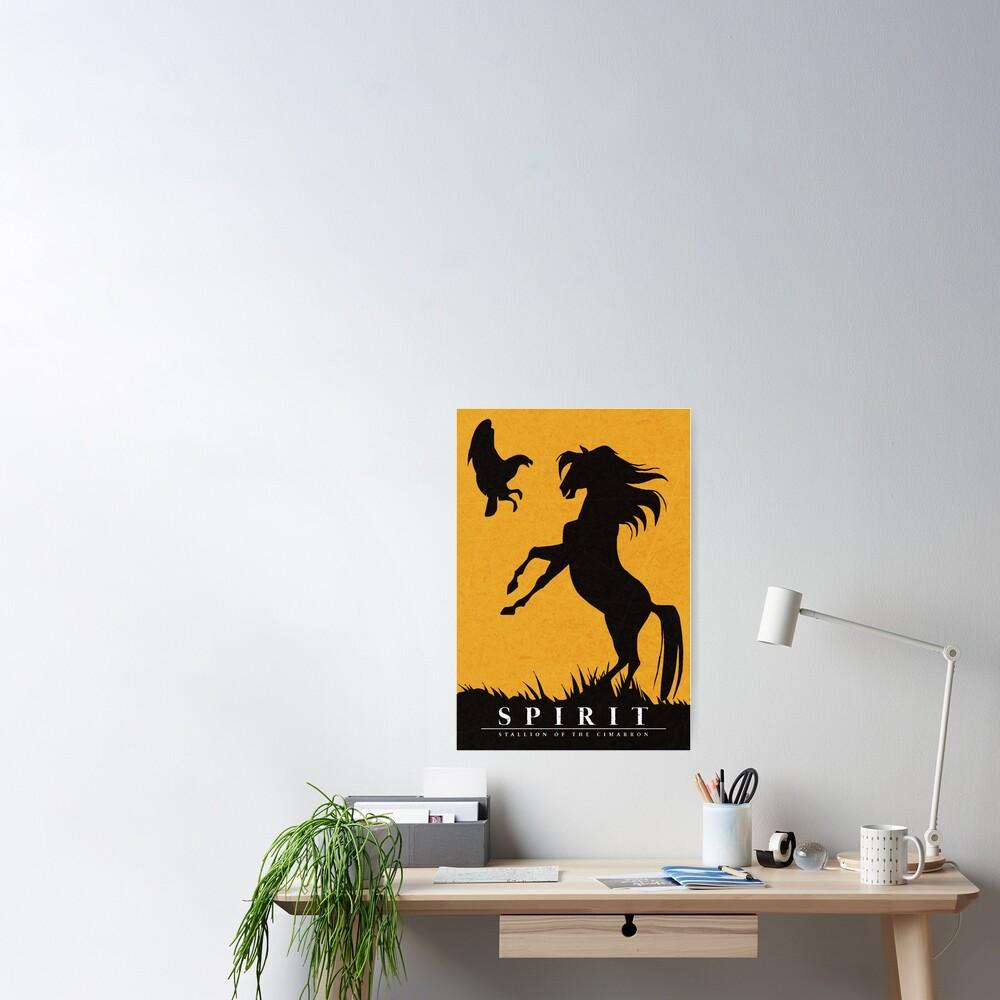 Spirit : Stallion of the Cimarron Minimalist Poster