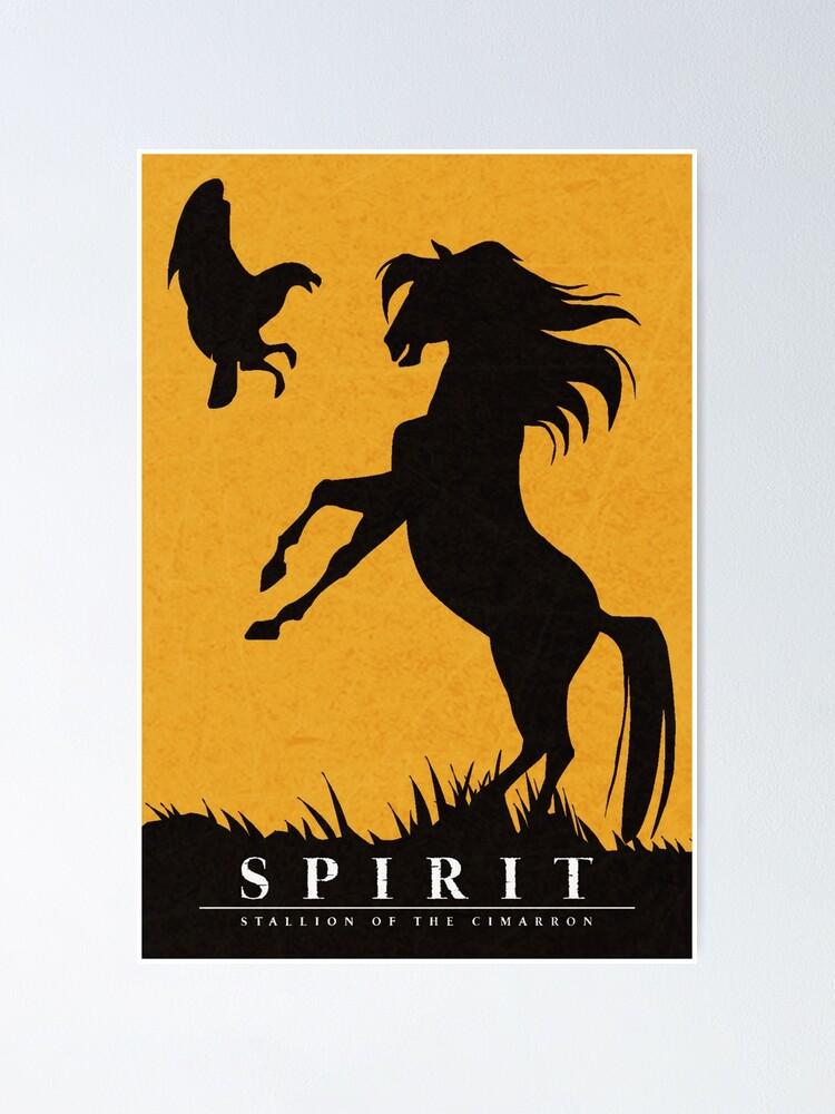 Alternate view of Spirit : Stallion of the Cimarron Minimalist Poster