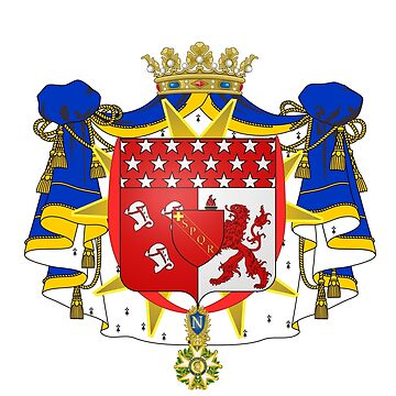 French France Coat of Arms 17791 Blason Nicolas Charles Victor Oudinot Duc de Reggio by wetdryvac