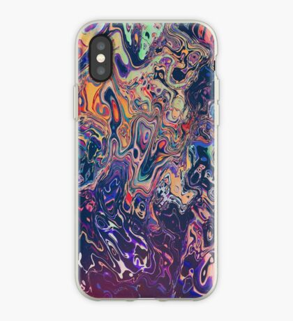 Psychedelic Pattern   Acid Wash iPhone Case