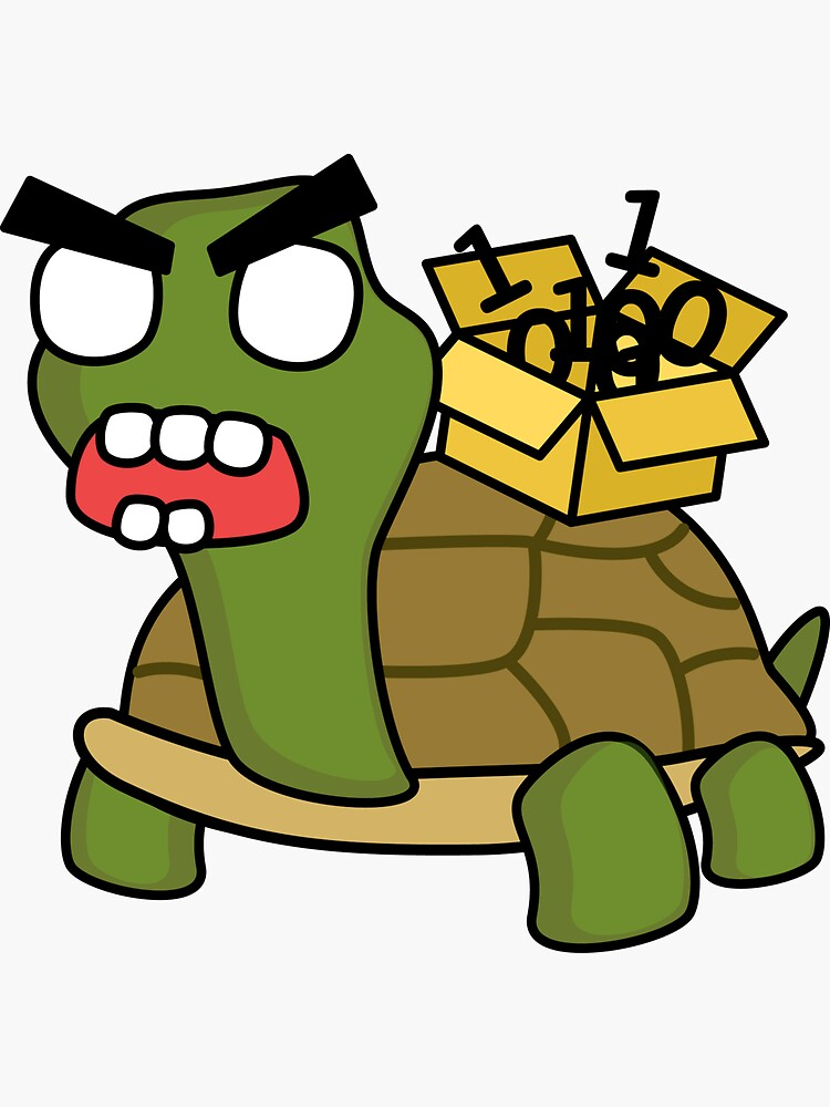 angry zombie packet tortoise by shortstack