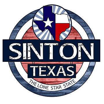 Sinton Texas rustic wood circle by artisticattitud