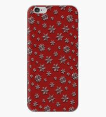 Christmas snowstorm iPhone Case
