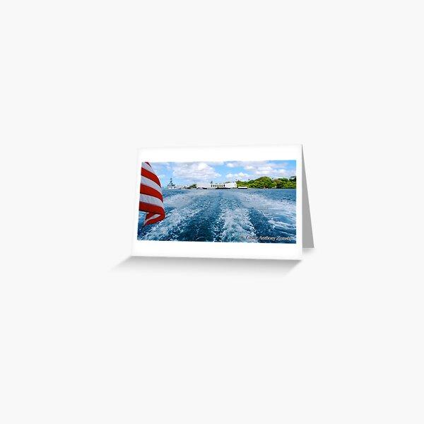 U.S.S. Arizona Memorial - Pearl Harbor Greeting Card