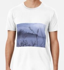Foggy Winter Botanicals in Landscape Men's Premium T-Shirt