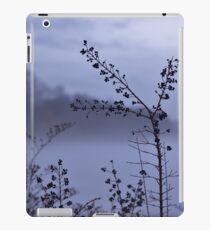 Foggy Winter Botanicals in Landscape iPad Case/Skin