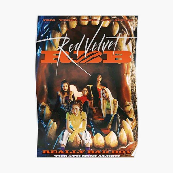 Red Velvet - Really Bad Boy ( The 5th Mini Album) Poster