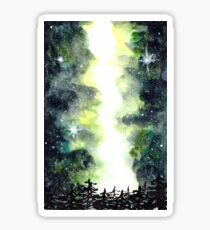 Galaxy Milky Way Sky | Starry Night | Night Sky Sticker