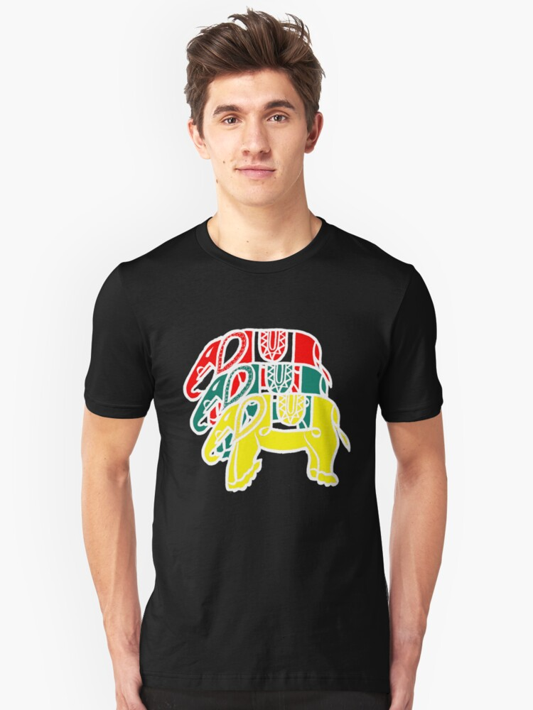 see thru elephants Unisex T-Shirt Front
