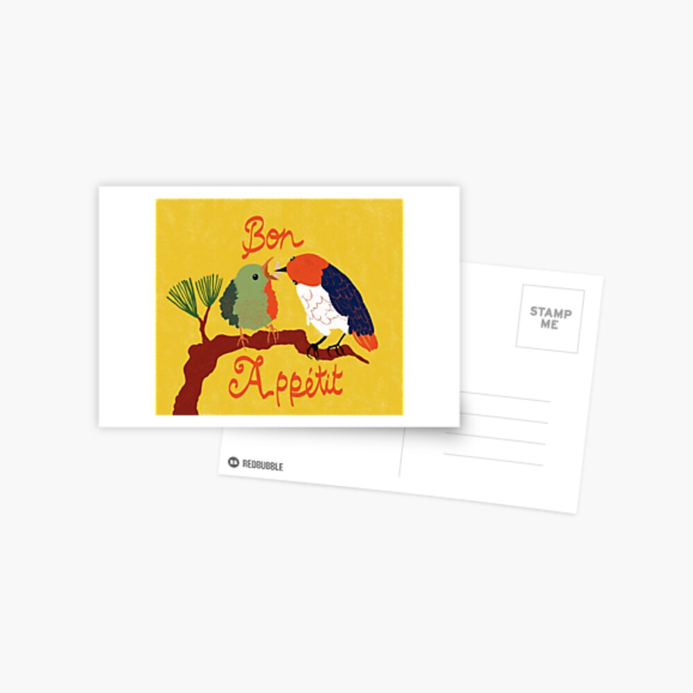 Bon Appétit Postcard