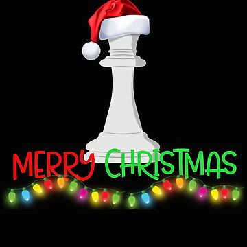 Funny Chess Christmas Gift by SL-Creative