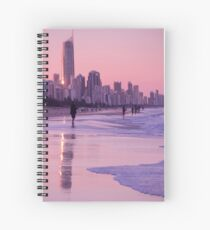 Gold Coast Reflections Spiral Notebook