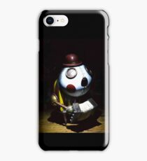 Mechanical Accordion Player iPhone Case/Skin