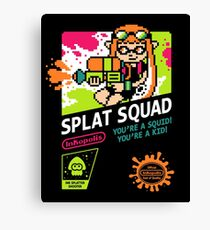 SPLAT SQUAD Canvas Print