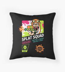 SPLAT SQUAD Throw Pillow