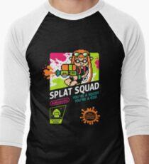 SPLAT SQUAD Men's Baseball ¾ T-Shirt