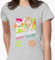 SPLAT SQUAD Womens Fitted T-Shirt