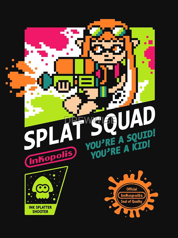 SPLAT SQUAD by DREWWISE