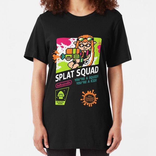 SPLAT SQUAD Slim Fit T-Shirt