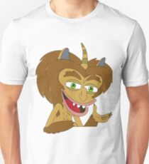 Maury the Hormone Monster - Big Mouth Slim Fit T-Shirt