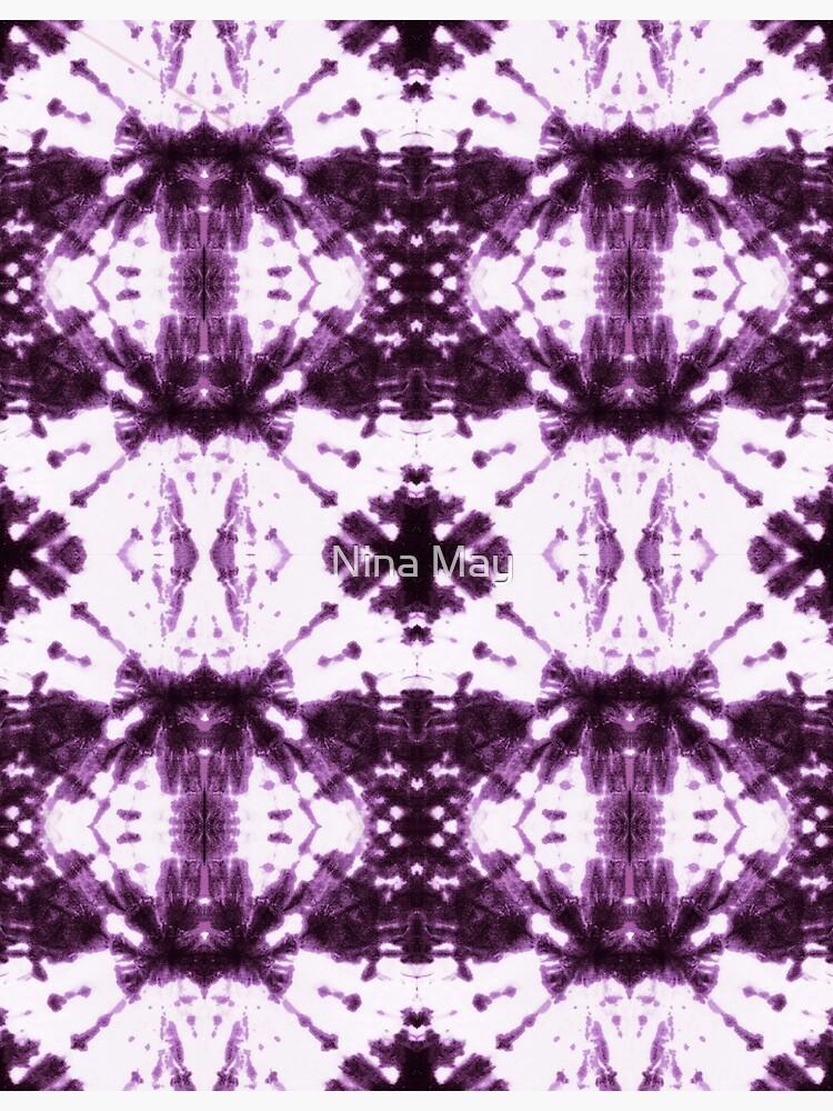 Ikat Shibori Violet by ninabmay