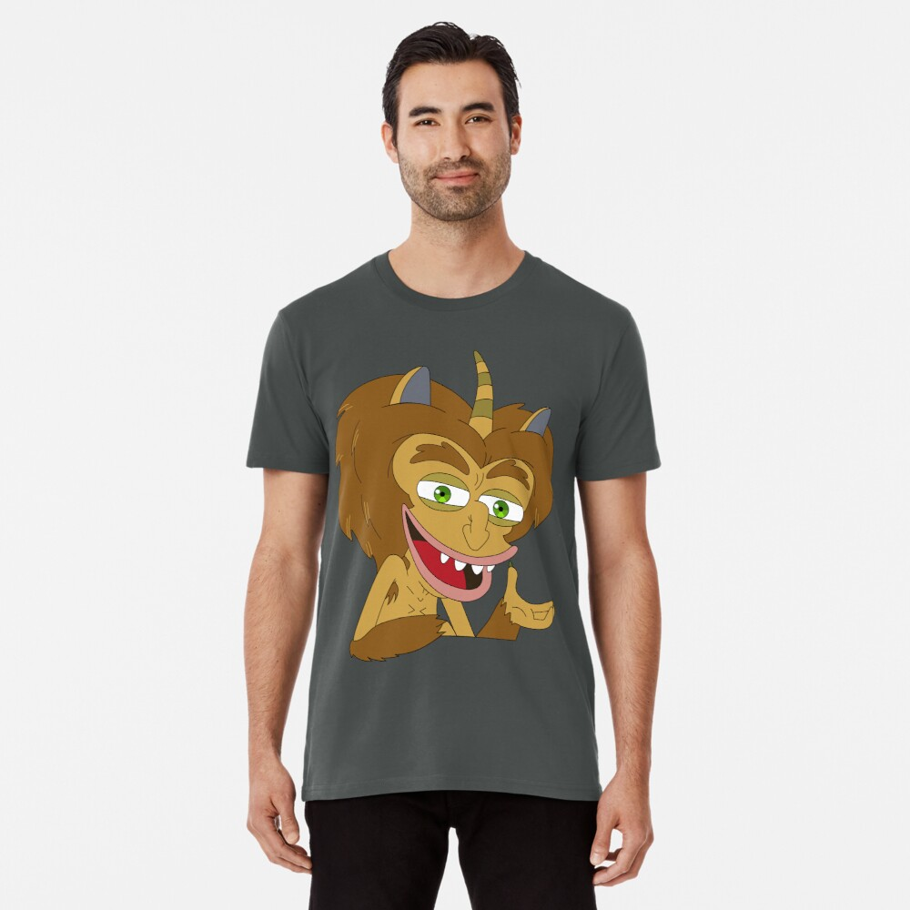 5885a1d99c5 Men s Premium T-Shirt. Maury the Hormone Monster - Big Mouth by Pure-Gifts