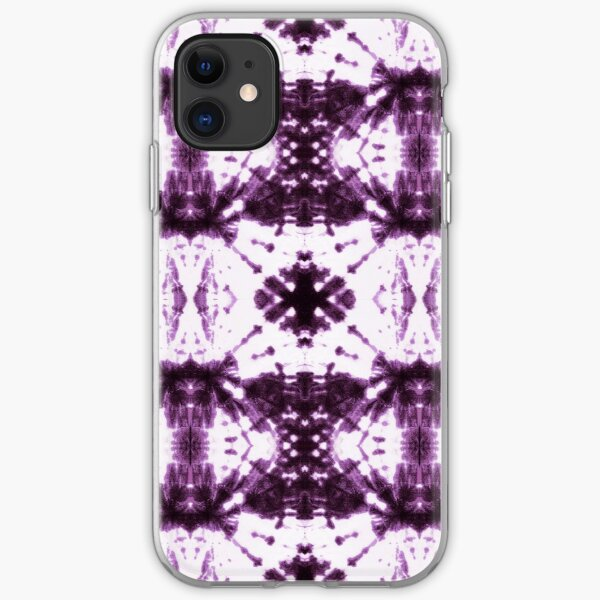 Ikat Shibori Violet iPhone Soft Case