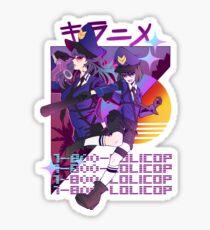 1-800-LOLICOP Glossy Sticker