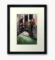 Antica Trattoria Framed Print