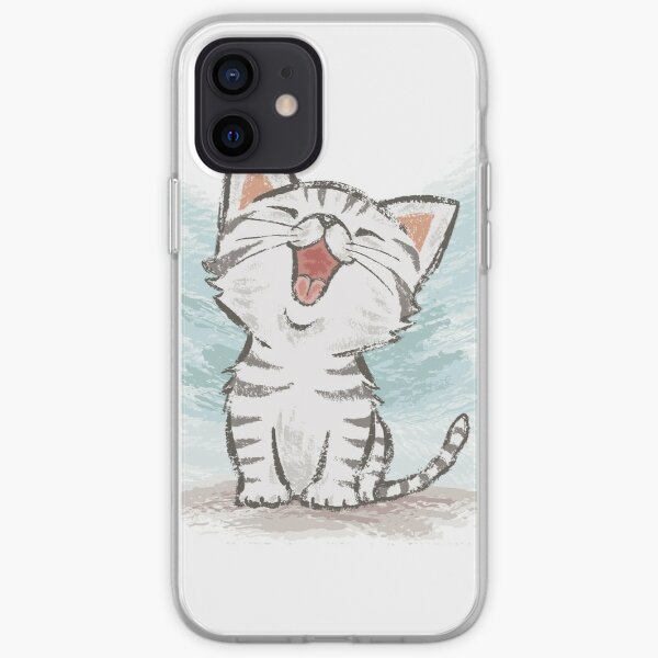 American Shorthair happy iPhone Soft Case