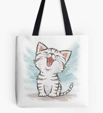 American Shorthair happy Tote Bag