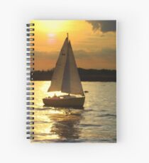 The Port of Heaven Spiral Notebook