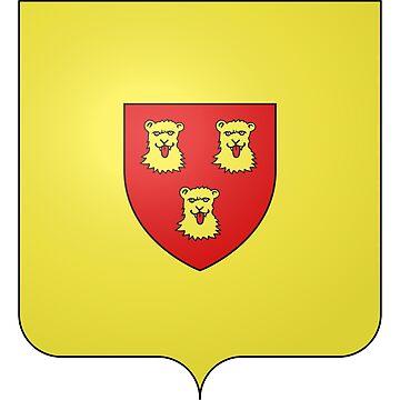 French France Coat of Arms 17798 Blason Nicolas Jean de Dieu Soult Restauration by wetdryvac