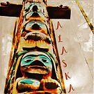 Alaska Totem Pole by EvePenman