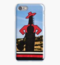 Uno bailaor iPhone Case/Skin