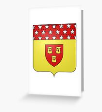 French France Coat of Arms 17799 Blason Nicolas Jean de Dieu Soult Greeting Card