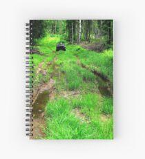Showdown In The Forest Spiral Notebook