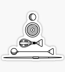 Throwing Implements Sticker