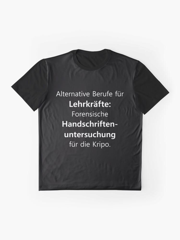 Vista alternativa de Camiseta gráfica Profesor   Profesora profesora escuela diciendo   regalo