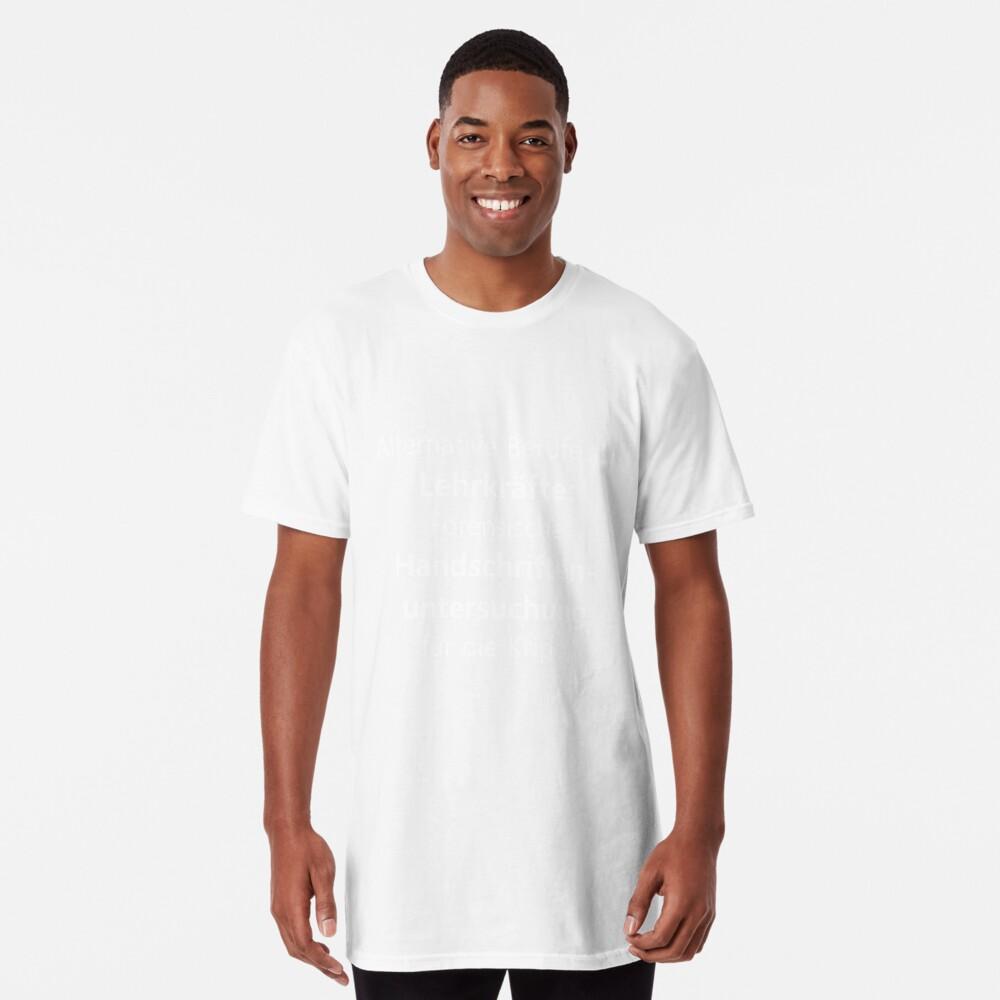 Profesor   Profesora profesora escuela diciendo   regalo Camiseta larga