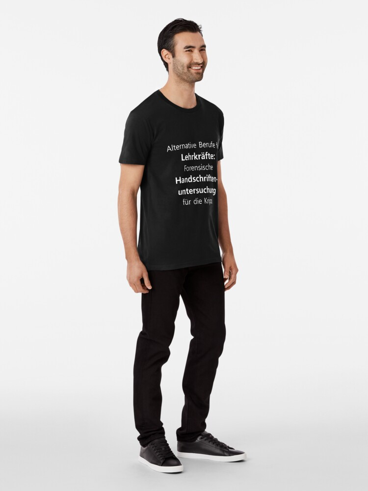 Vista alternativa de Camiseta premium Profesor | Profesora profesora escuela diciendo | regalo