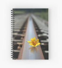 Waiting for the train... Spiral Notebook