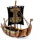 Cardboard Viking by JohnKarmouche