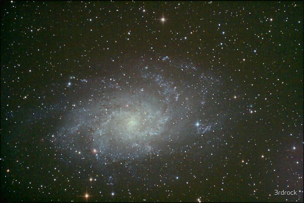M33 triangulum galaxy by 3rdrock