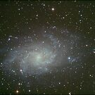 M33 triangulum galaxy by 3rdrock
