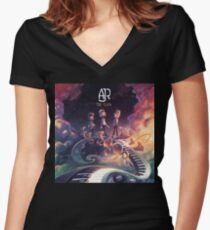 AJR  BAND TOUR THE CLICK 2018 Women's Fitted V-Neck T-Shirt