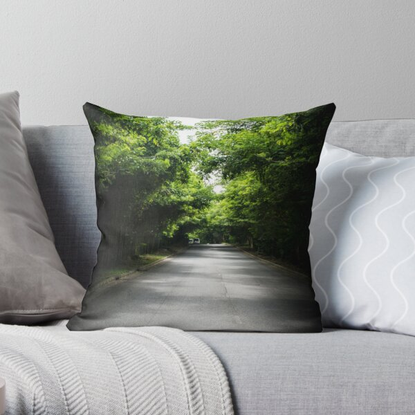 All Road Lead to Road Throw Pillow