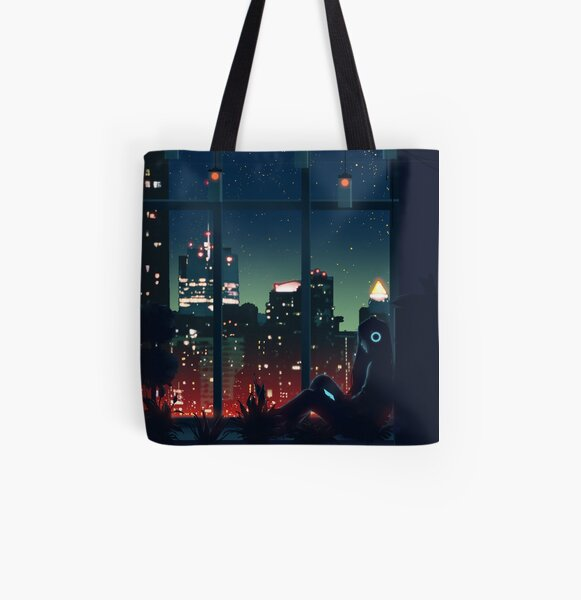 A Quiet Night All Over Print Tote Bag