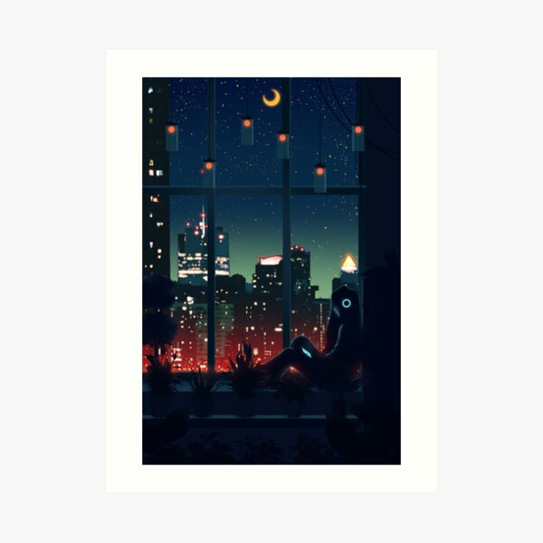 A Quiet Night Art Print